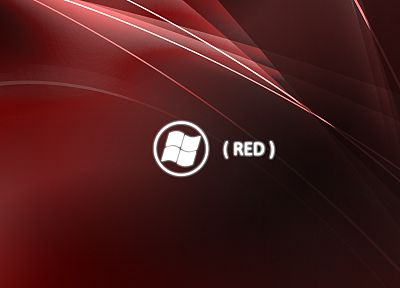 red, Microsoft Windows, logos - related desktop wallpaper