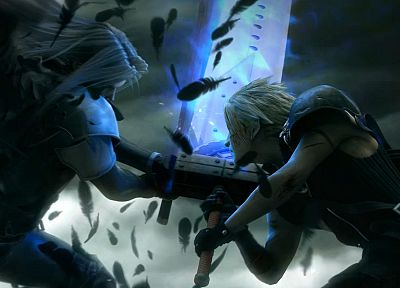 Final Fantasy, Final Fantasy VII, Final Fantasy VII Advent Children, Sephiroth, Cloud Strife - related desktop wallpaper