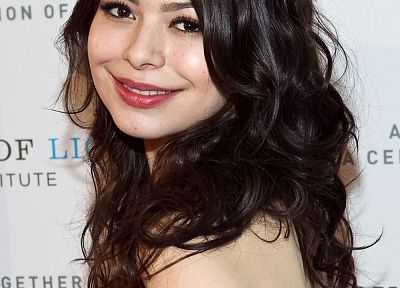 women, Miranda Cosgrove - duplicate desktop wallpaper