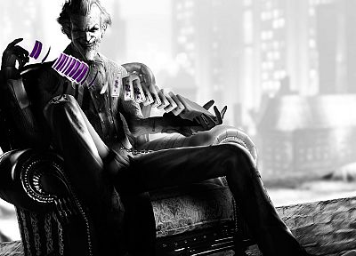 Batman, video games, The Joker, Arkham City, Batman Arkham City, Villain - desktop wallpaper