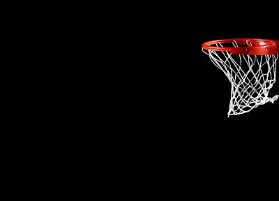 sports, basketball, black background - random desktop wallpaper