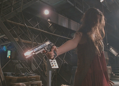 Serenity, guns, Summer Glau, Firefly, River Tam - related desktop wallpaper