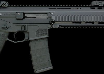 rifles, black, guns, weapons, Magpul, ACR Rifles, Masada - related desktop wallpaper