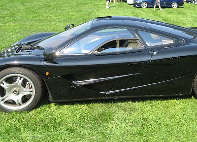 cars, grass, vehicles, McLaren F1 - related desktop wallpaper