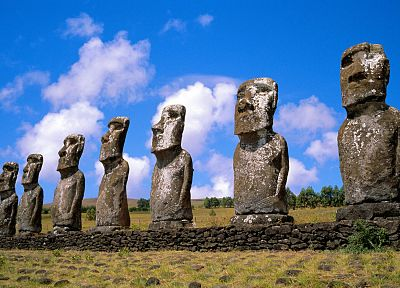 Chile, Easter Island - random desktop wallpaper