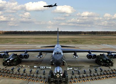 aircraft, military, B-52 Stratofortress - random desktop wallpaper
