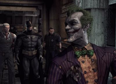 Batman, The Joker, Batman Arkham Asylum - random desktop wallpaper