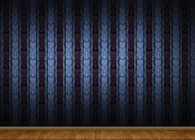 3D view, minimalistic, wall, patterns - related desktop wallpaper