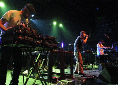 Animal Collective, concert - related desktop wallpaper