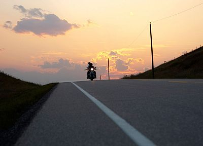 roads, motorbikes, riding - random desktop wallpaper