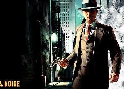 video games, L.A Noire - desktop wallpaper