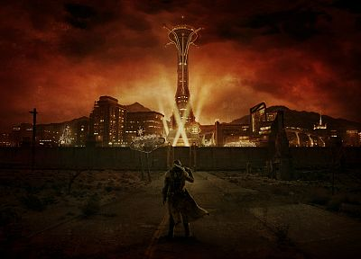 video games, Fallout New Vegas, concept art - random desktop wallpaper