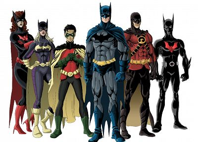 Batman, Robin, DC Comics, Batgirl, Batman Beyond, Batwoman, Red Robin - related desktop wallpaper