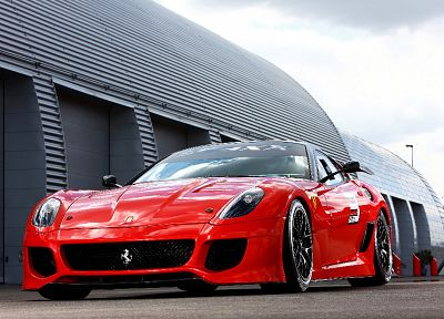 cars, Ferrari, vehicles, Ferrari 599XX, low-angle shot - random desktop wallpaper