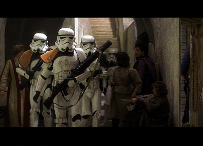 Star Wars, stormtroopers, screenshots - random desktop wallpaper