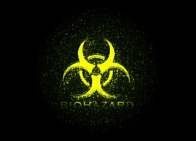 biohazard, symbol - random desktop wallpaper