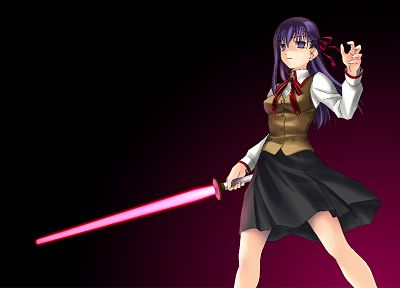 Fate/Stay Night, school uniforms, Matou Sakura, Fate series - random desktop wallpaper