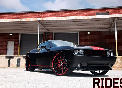cars, tuning, wheels, Dodge Challenger - related desktop wallpaper