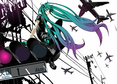 Vocaloid, Hatsune Miku, Love is War, twintails - random desktop wallpaper