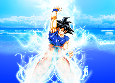 Son Goku, Dragon Ball Z - desktop wallpaper