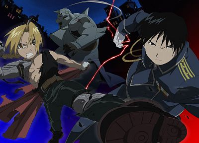 Fullmetal Alchemist, Elric Edward, anime - related desktop wallpaper