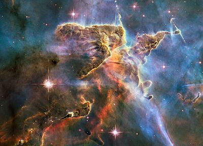outer space, stars, nebulae, Carina nebula - desktop wallpaper