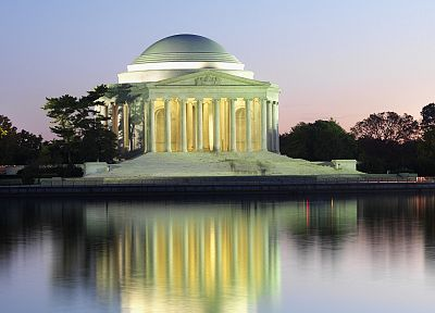 Washington DC, Jefferson Memorial - random desktop wallpaper