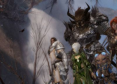 PC, Guild Wars, fantasy art, MMO, game - random desktop wallpaper