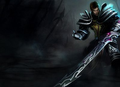 video games, League of Legends, Garen, Riot Games - random desktop wallpaper
