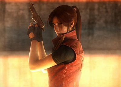 video games, Resident Evil, Claire Redfield - desktop wallpaper