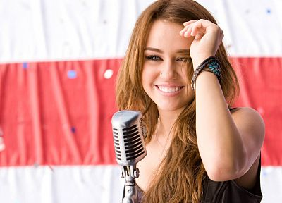 women, Miley Cyrus, celebrity, singers - desktop wallpaper