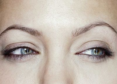 women, close-up, eyes, actress, Angelina Jolie, celebrity - related desktop wallpaper