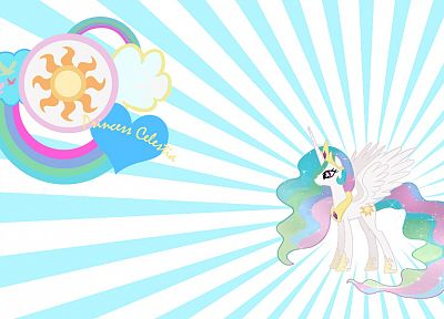 My Little Pony, Princess Celestia - related desktop wallpaper