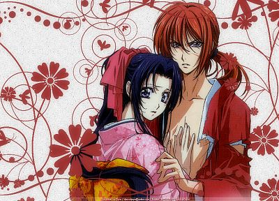 Rurouni Kenshin, Japanese clothes - random desktop wallpaper