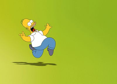 TV, Homer Simpson, The Simpsons - desktop wallpaper