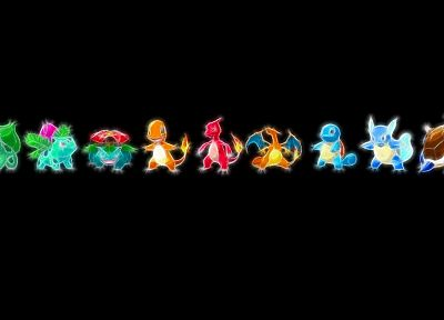Pokemon, Bulbasaur, Venusaur, Ivysaur, Wartortle, Charmeleon, Squirtle, Blastoise, Charizard, Charmander - related desktop wallpaper