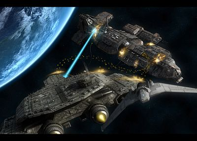 Stargate, Daedalus, spaceships, vehicles - random desktop wallpaper