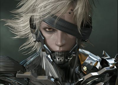 Metal Gear Solid, Raiden - desktop wallpaper