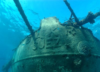 ships, wrecks, shipwrecks, vehicles, underwater, Suez Canal - random desktop wallpaper