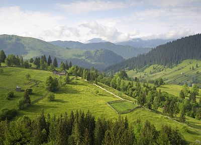 mountains, Romania, Southern - random desktop wallpaper