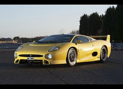 Jaguar xj220 - random desktop wallpaper
