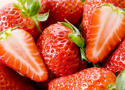 nature, fruits, strawberries, berries - related desktop wallpaper
