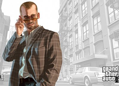 video games, Grand Theft Auto, Grand Theft Auto IV - desktop wallpaper