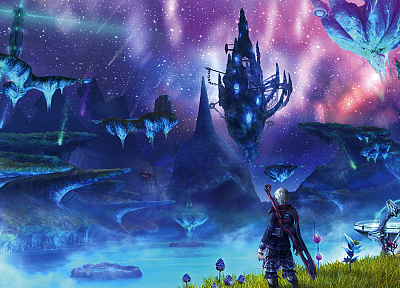 xenoblade - random desktop wallpaper