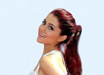 women, redheads, Nickelodeon, Ariana Grande, Victorious - related desktop wallpaper