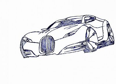 cars, sketches, drawings - random desktop wallpaper