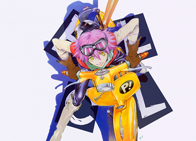 FLCL Fooly Cooly - random desktop wallpaper