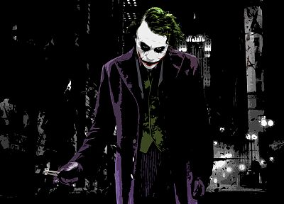 Batman, movies, DC Comics, The Joker, The Dark Knight - desktop wallpaper