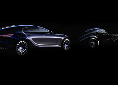 cars, Bugatti, vehicles, concept cars, Bugatti Galibier Concept, classic cars - desktop wallpaper
