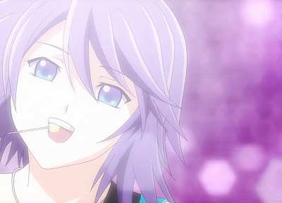 Shirayuki Mizore, anime, Rosario to Vampire - related desktop wallpaper